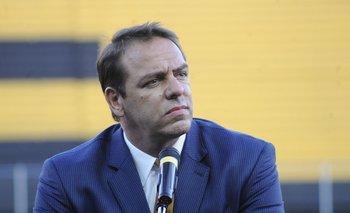 Ignacio Ruglio fue este domingo a hablar con el plantel y el técnico hasta Los Aromos