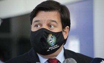 El ministro de Ambiente, Adrián Peña, dijo que habían advertido verbalmente a la empresa