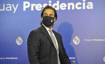 El presidente Luis Lacalle Pou encabeza conferencia sobre situación sanitaria