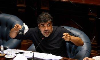 Andrade le apuntó al gobierno por la gestión de la pandemia durante 2021