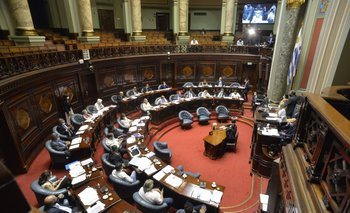 La sesión inició luego de que el proyecto recibiera modificaciones sobre algunos artículos en la última semana
