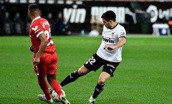 Maxi Gómez, dos partidos suspendido
