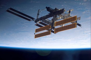 La Estación Espacial Internacional (EEI) se comenzó a armar en el espacio en 1998.