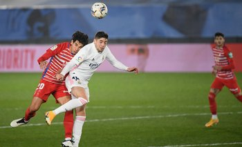 Federico Valverde inicia como titular en Real Madrid ante Sevilla