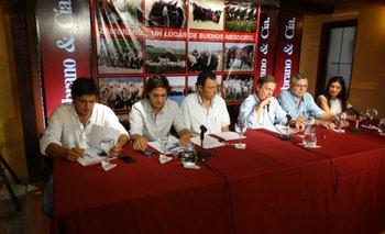 El remate se presentó en una conferencia realizada en las oficinas de Zambrano & Cía