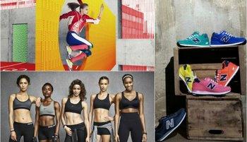 De arriba a abajo: Adidas, Nike y New Balance