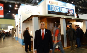 Presidente del Instituto de la Promoción de la Carne Vacuna Argentina, (IPCVA), Gonzalo Alvarerz Maldonado
