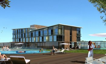 El hotel en Almirón tendrá 59 habitaciones
