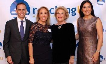 Alvaro Stainfeld (Presidente RU), Cristina Weisz, Baronesa Nina Von Maltzahn, Denisse Stainfeld
