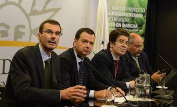 P. Vilanova, J. Tejedo Fernández, P. Rosselli y A. De Pando