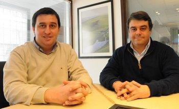 Juan Miguel Otegui y José Pedro Aicardi, directores de MegaAgro