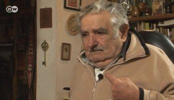José Mujica con la cadena Deutsche Welle