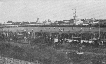 El Parque Central en sus comienzos