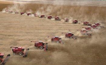 Se viene una abundante cosecha de soja en la región