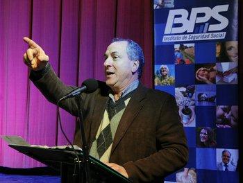 El exministro de Trabajo Ernesto Murro fue presidente del BPS entre 2005 y 2015