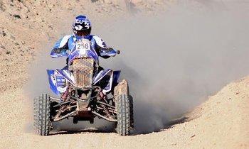 Sergio Lafuente en el Dakar 2014