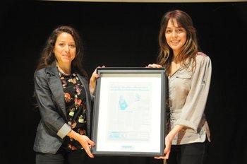 Las ganadoras del 2011, las socias de Femway