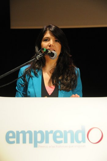 La gerenta comercial del diario El Observador, Fernanda Ariceta