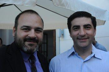 Victor Umpiérrez y Santiago Aramendía