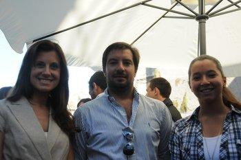 Florencia Malo, Agustín NApoleone y Valentina Quagliotti