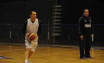 Nicolás Mazzarino y Pablo López