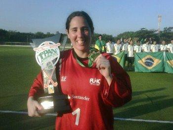 Mejor golera de la Panam Challenge 2011
