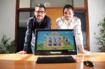 Martín Larre y Alan Kind de Kidbox