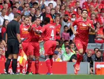 Luis Suárez en Liverpool