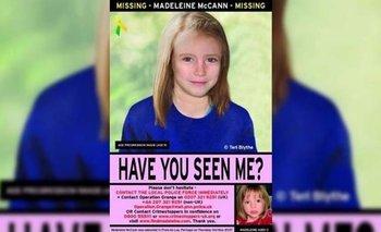La Policía hizo una reconstrucción de cómo sería Madeleine hoy