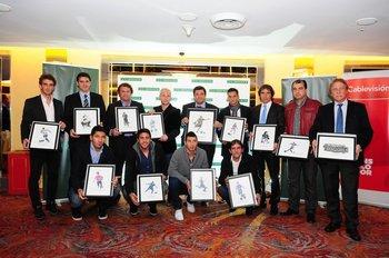 Entrega de premios de Fútbolx100 del Campeonato Uruguayo 2012-2013