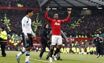 El día que Evra se burló de Suárez por el triunfo de Manchester United ante Liverpool