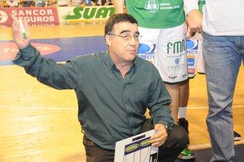 Su último gran título, la Liga Uruguay 2012-2013 con Aguada