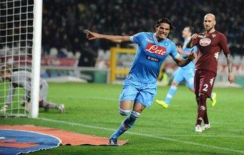 """Con Napoli, anotó 104 goles, goleador en Serie """"A"""" en 2012/13"""