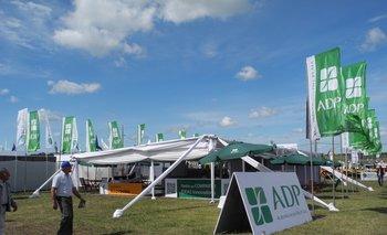 El stand de Agronegocios del Plata en la reciente Expoactiva Nacional.