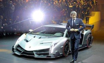 Stephan Winkelmann, CEO de Lamborghini, quealcanzó en 2020 su segundo mejor año de la historia en ventas perola facturación cayó 11%