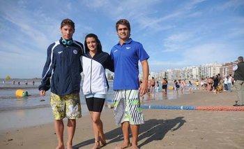 Nicolás Culela, Paola Cabrera y Juan Manuel Tolosa