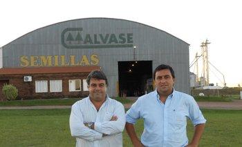 José Pedro Aicardi y Juan Miguel Otegui, directores de MegaAgro y Calvase