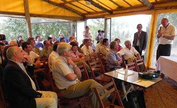 Mariano Elzaurdia expone ante los presidentes