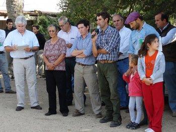 El ministro Aguerre elogió el trabajo realizado por la familia Castro