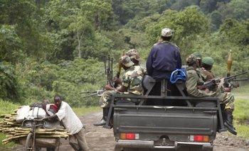 Guerrilla y pobreza en el Congo