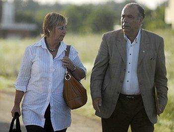 Liliam Kechichián y Héctor Lescano