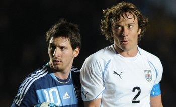 Messi y Lugano en 2011