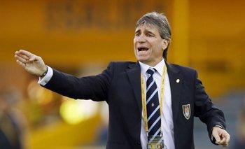 El entrenador Juan Verzeri