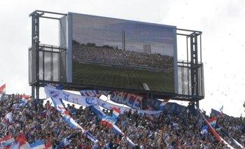 La pantalla del Centenario