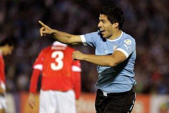 Suárez, 63 goles con la selección