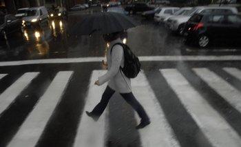 Se podrán registrar lluvias intensas en cortos períodos, de acuerdo al pronóstico