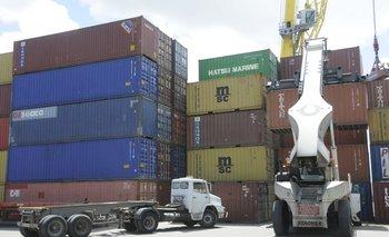 Los camiones operan normalmente en el puerto de Montevideo