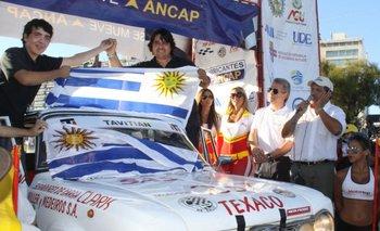 Carlos y Tincho Bermúdez festejan su triunfo