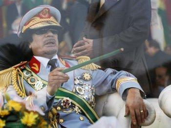 Muamar Gadafi fue asesinado por manifestantes en 2011 en la ciudad libia de Sirte