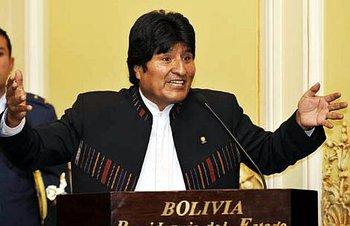Presidente de Bolivia, Evo Morales